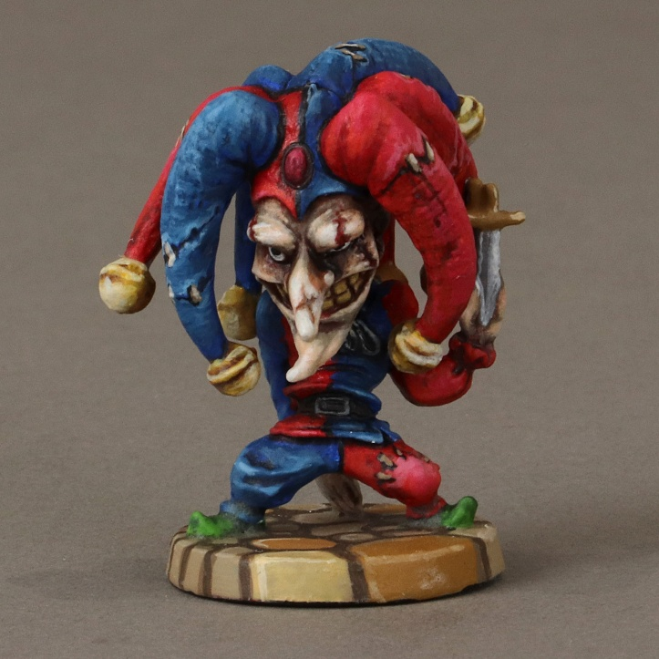 Arcadia Quest Inferno Hero Jack-Jack miniature painted