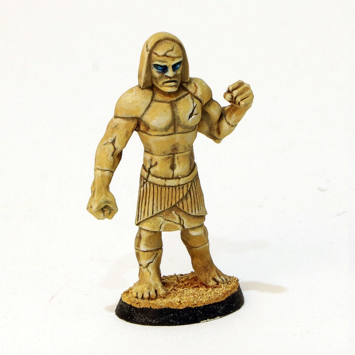 Stone Golem AD&D painted miniature Ral Partha 11-417